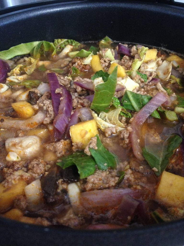 Meat slop. Versatile, low calorie, high protein, and better than it sounds!