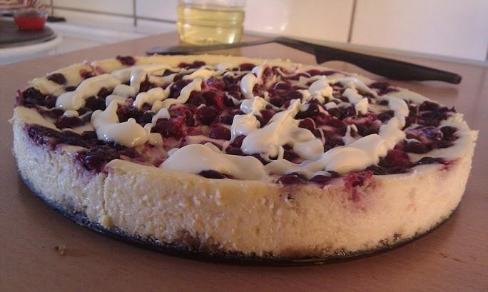 Bojan Kostevski - White Chocolate Raspberry cheesecake. Naughtiness rating: 6/10