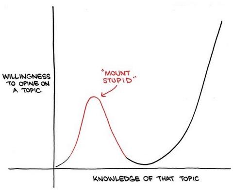'Mount stupid'