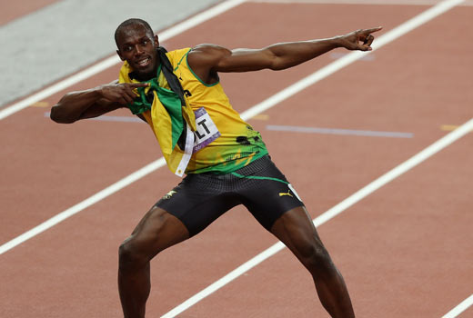 If Usian Bolt had been coached by someone faster, the lineup would have looked a bit different